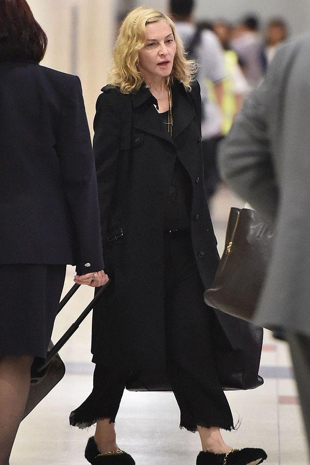Мадонна без макияжа: красиво или ужасно?