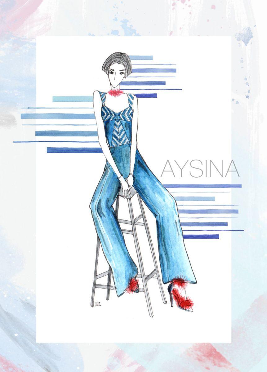 первые образы из коллекции Aysina осень-зима 2016