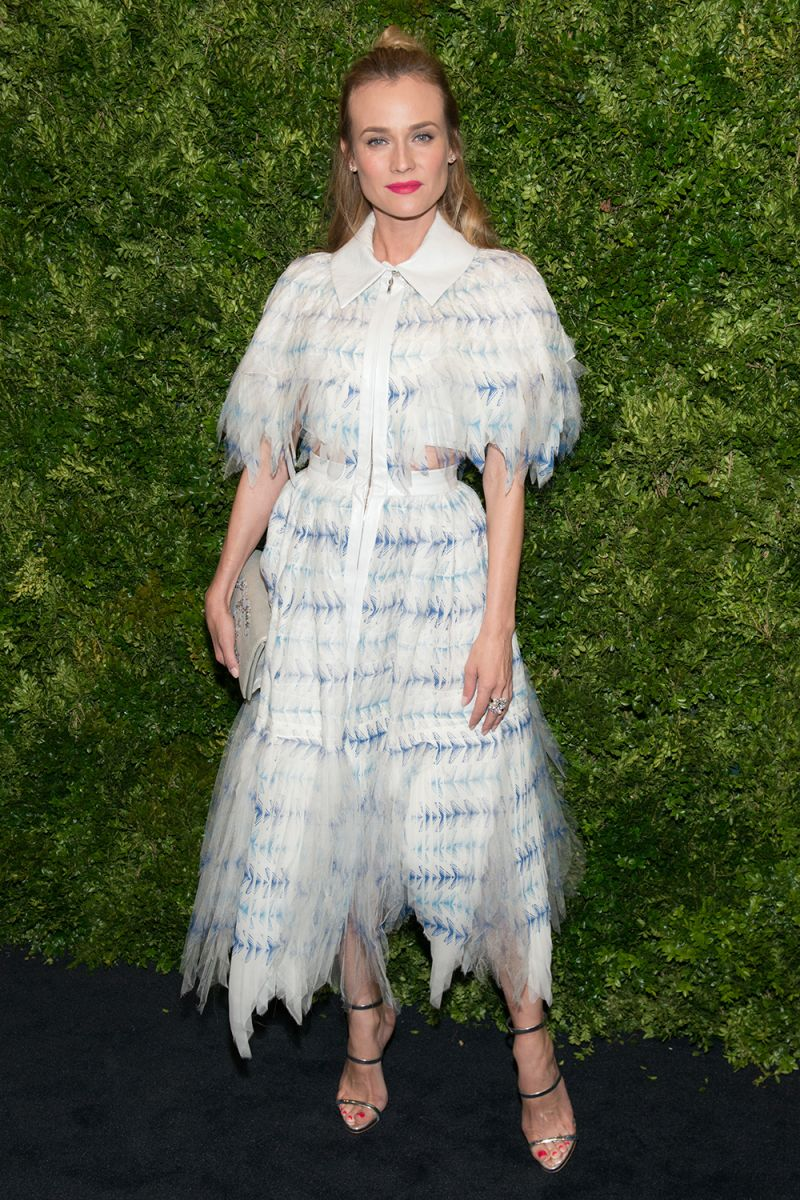 Образ дня: Диана Крюгер в Chanel на вечере имени Кейт Бланшетт
