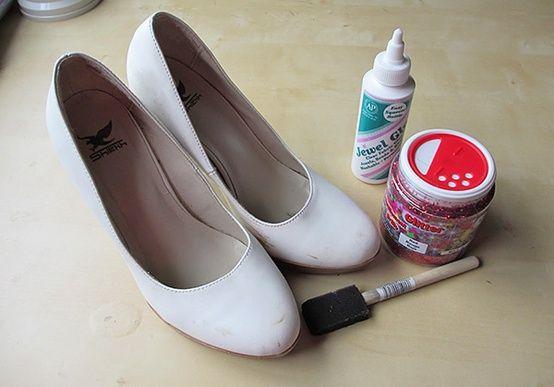 Как сделать туфли в домашних условиях