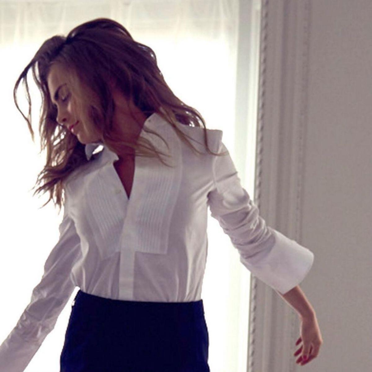Кокетка: Кара Делевинь представляет новую коллекцию помад Yves Saint Laurent Rouge Volupte Shine