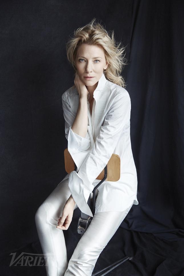 46-летняя Кейт Бланшетт продемонстрировала натуральную красоту в новой фотосессии
