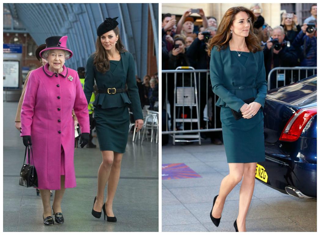 Кейт Миддлтон в костюме L.K. Bennett: Queen's Diamond Jubilee tour и на благотворительном мероприятии CAP Charity Day.