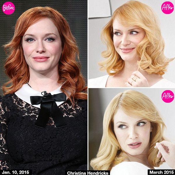Из рыжей в блондинку: Кристина Хендрикс удивила цветом волос