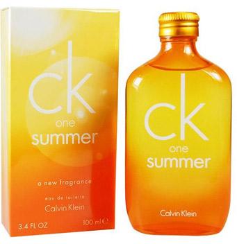 Аромат One Summer от CK 2010