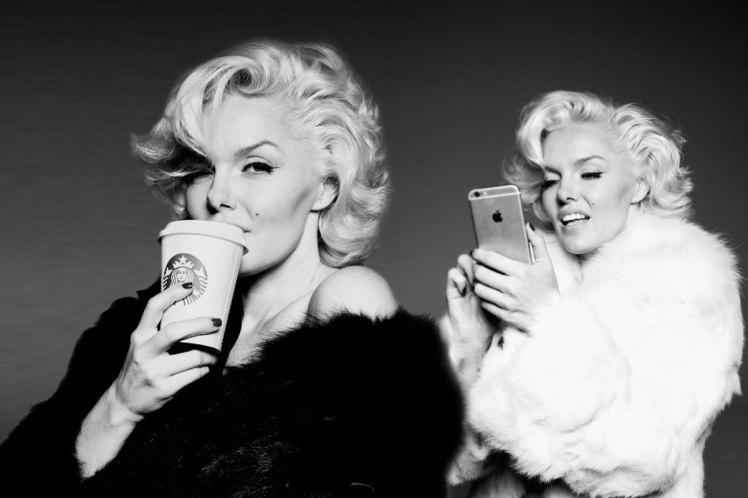 Уникальный фотопроект: если бы Мэрилин Монро жила в наши дни