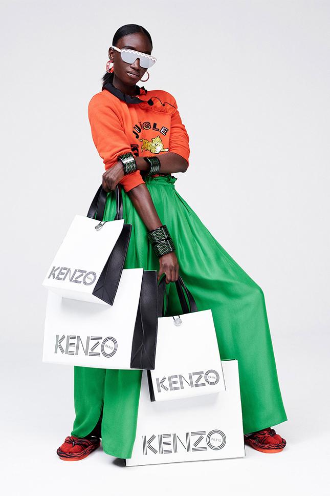 Полный обзор новой совместной коллекции Kenzo и HM (ФОТО)