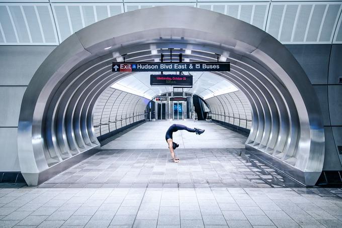 Урбан йога: фотопроект, который заставит тебя заниматься йогой!
