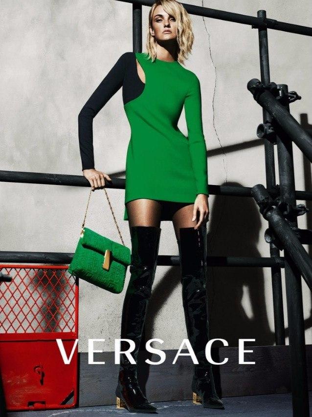 Желтый, зеленый, красный, или новая коллекция от Versace