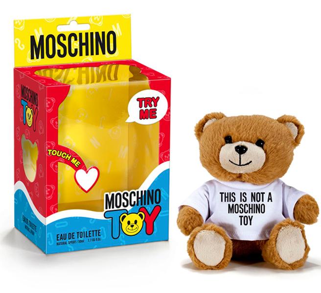Плюшевые духи: новое творение от Moschino
