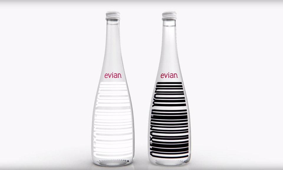 Девятым будешь? Александр Вэнг создал уникальный дизайн для бутылочек Evian
