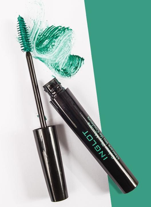 Радужный макияж: какого цвета тушь выбрать на осень 2014?