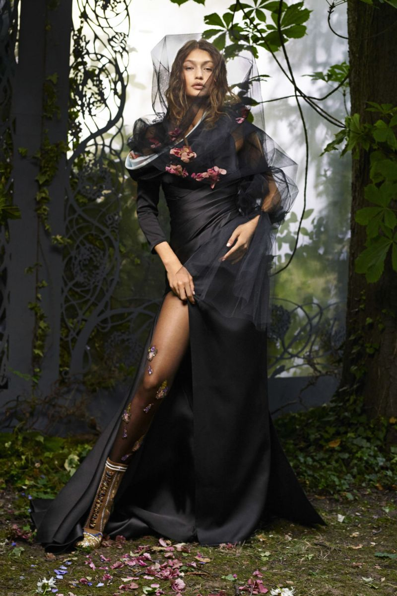 Джиджи Хадид снялась в сказочной фотосессии Карла Лагерфельда (ФОТО)