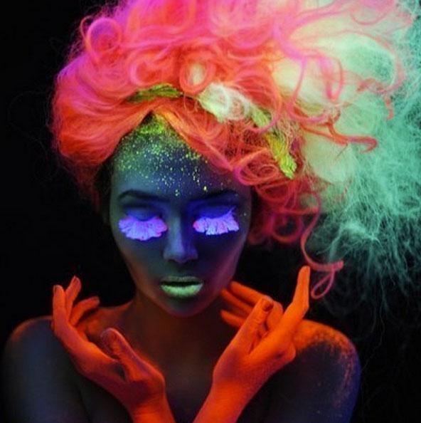 Сияй, моя головонька: неоновые волосы стали хитом Instagram! фото