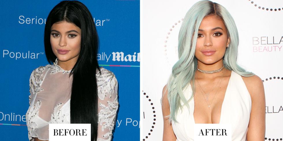 Back to blue: Кайли Дженнер снова сменила оттенок волос