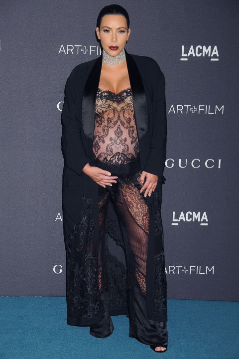 Лучшие образы беременной Ким Кардашьян 2015