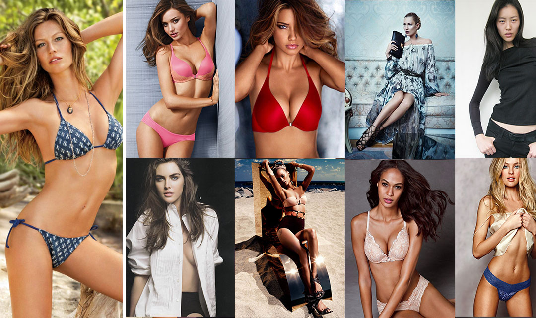 Самые высокооплачиваемые модели мира 2014