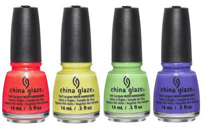 Лето, где ты? Летняя коллекция лаков для ногтей China Glaze Lite Brite 2016