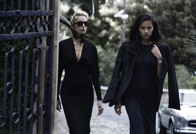 Адриана Лима появилась в рекламе швейцарского бренда