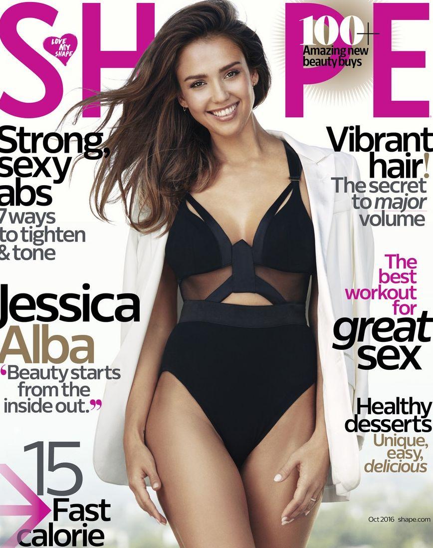 Джессика Альба похвасталась безупречной фигурой в купальнике в яркой фотосессии (ФОТО)