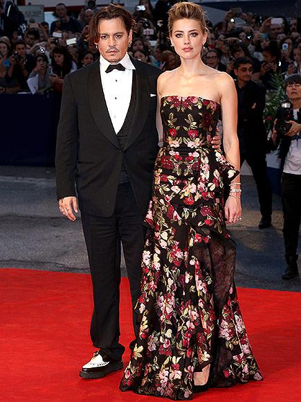 """Безупречны: Джонни Депп и Эмбер Херд на премьере фильма """"Девушка из Дании"""""""
