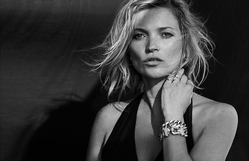 Кейт Мосс рекламирует роскошные украшения David Yurman фото
