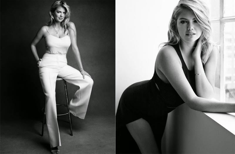 Пышная краса: Кейт Аптон демонстрирует женственную фигуру