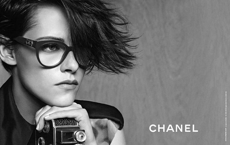Кристен Стюарт изменила имидж ради Chanel
