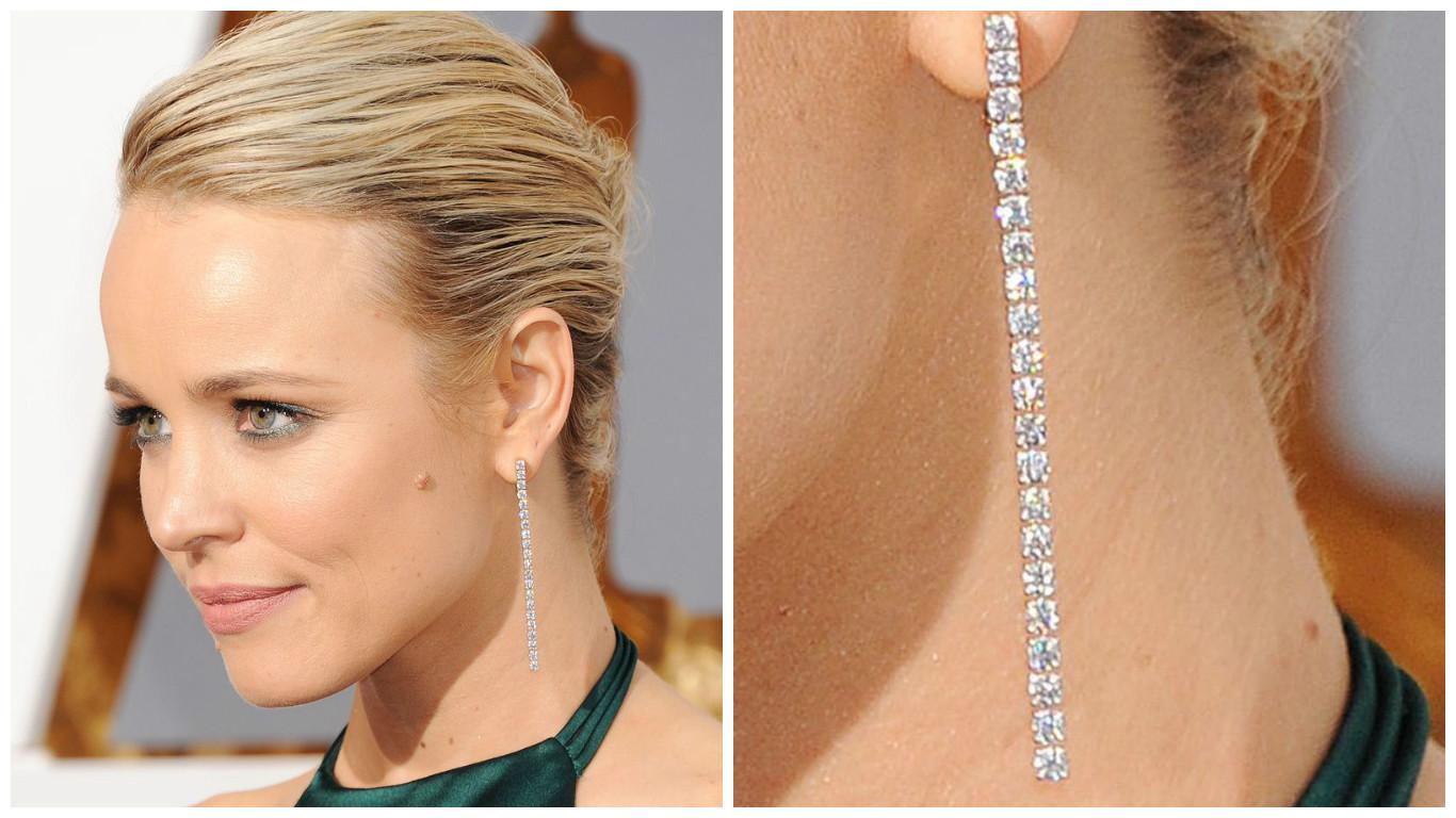 """самые роскошные украшения звезд на церемонии """"Оскар 2016"""" фото"""
