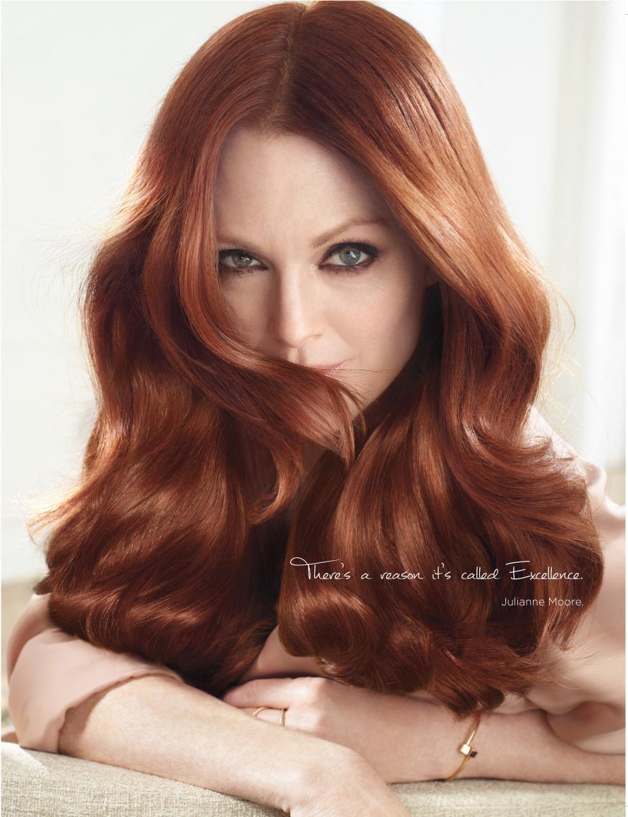 Юбилей краски для волос Loreal Excellence: какие оттенки выбирают мировые звезды?