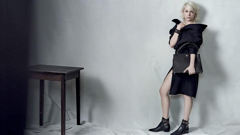 Ах, Мишель! Женственная Мишель Уильямс обнажилась для Louis Vuitton