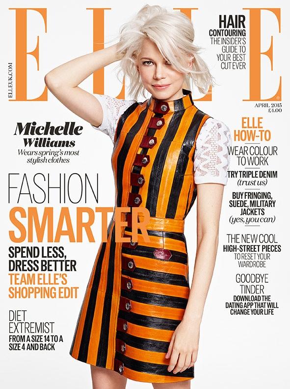 Сексуальная милашка: Мишель Уильямс позирует в Louis Vuitton