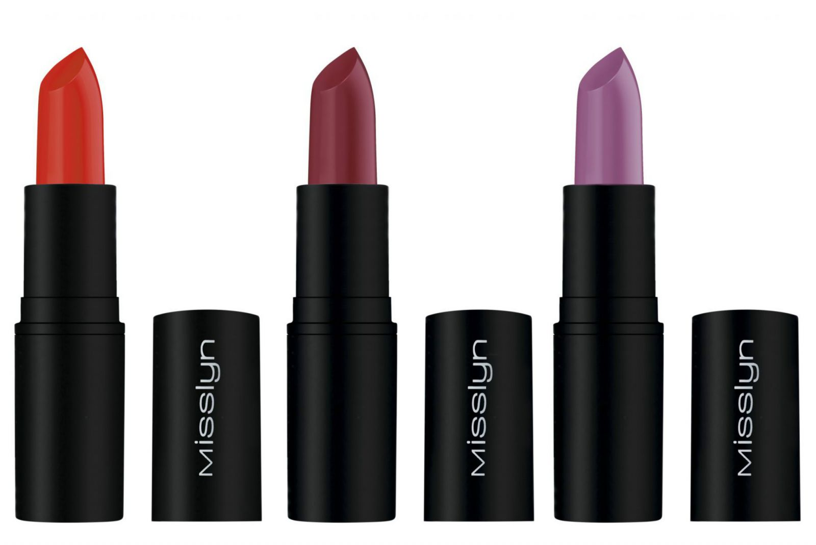 Матовые помады Misslyn Cream To Matte Long-Lasting Lipstick