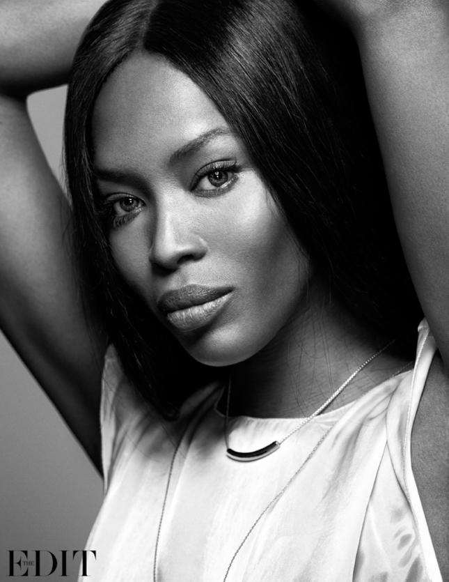 Нестареющая красота: Наоми Кэмпбелл в новой фотосессии