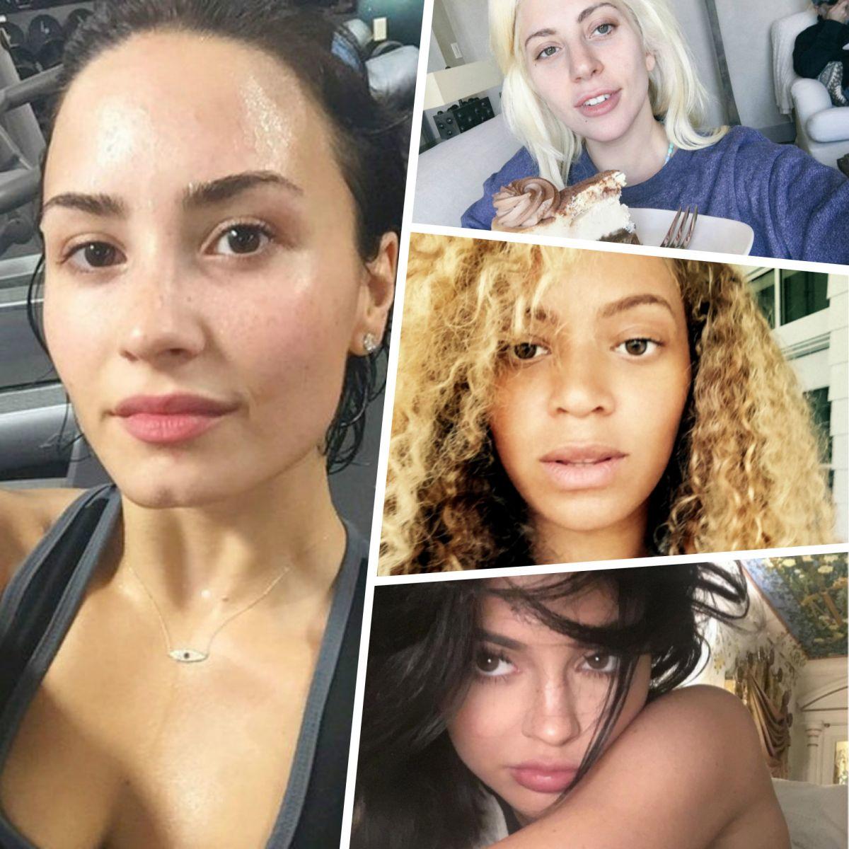 Звезды утром без макияжа