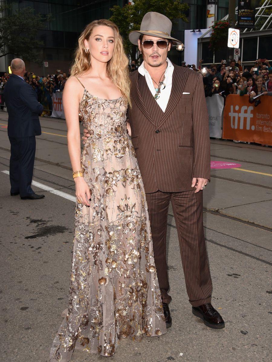 Вновь блистают: Джонни Депп и Эмбер Херд на премьере в Торонто