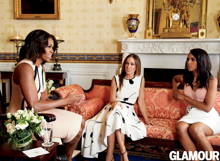 Супруга Президента украсила модный глянец