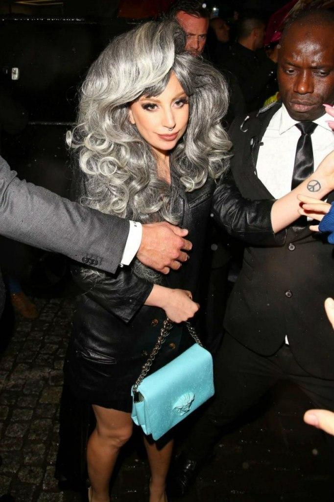 Фотофакт: Леди Гага снова поседела