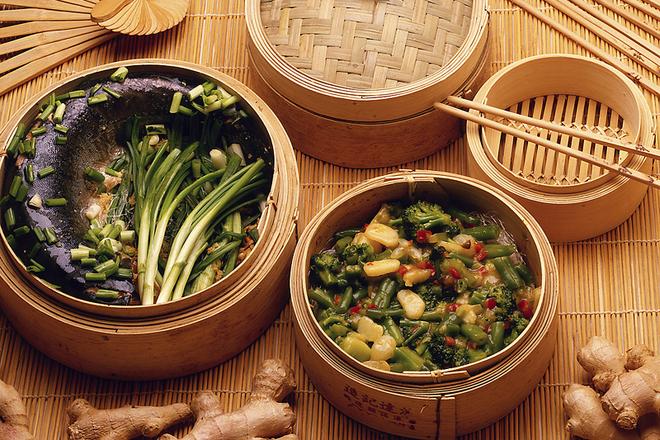 Еда, приготовленная на пару: ешь и худеешь!