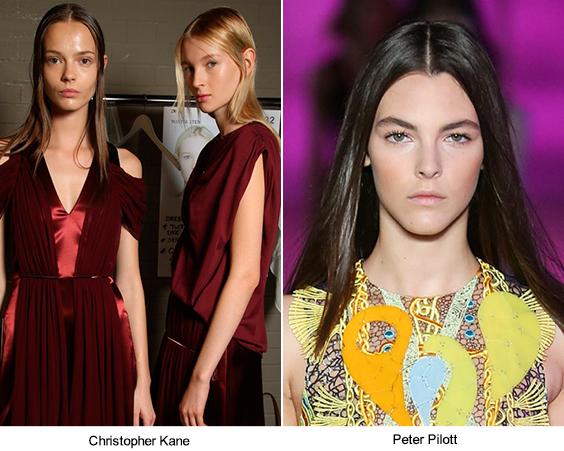 3 самые трендовые прически Недели моды в Лондоне