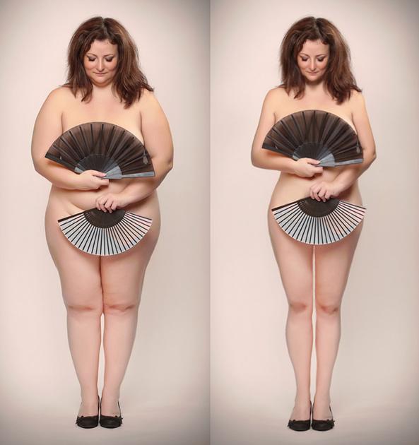 """Возьми и похудей: плюс-сайз моделей отфотошопили """"против пропаганды ожирения"""""""