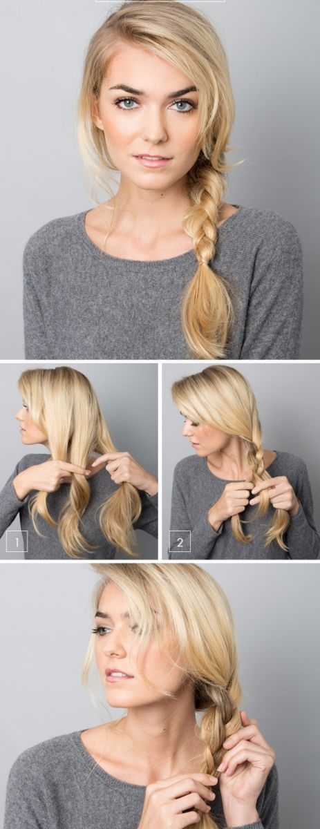 5 минут, 5 минут: быстрые прически для длинных волос