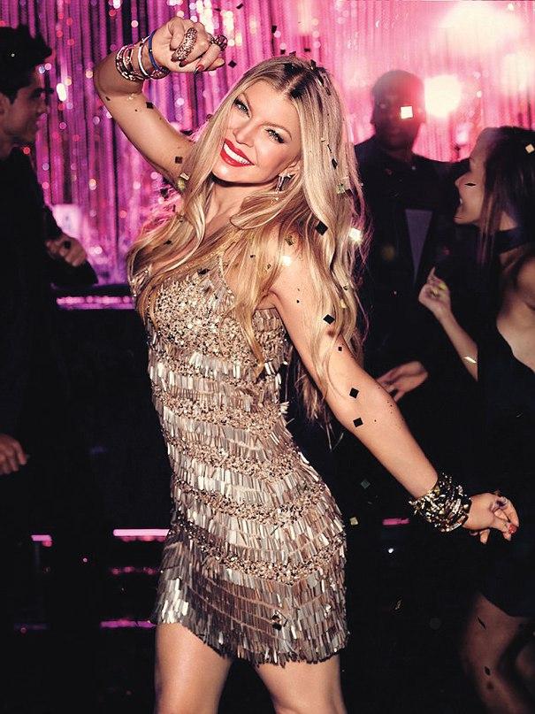 Девушка-вечеринка: Ферги показала как нужно веселиться!