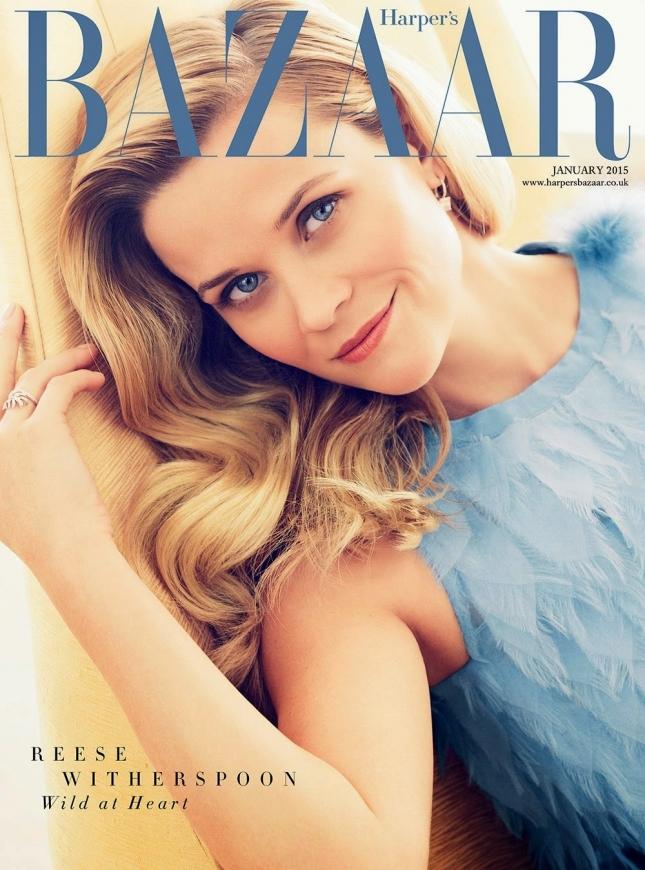 Сногсшибательная блондинка: Риз Уизерспун в новой фотосессии