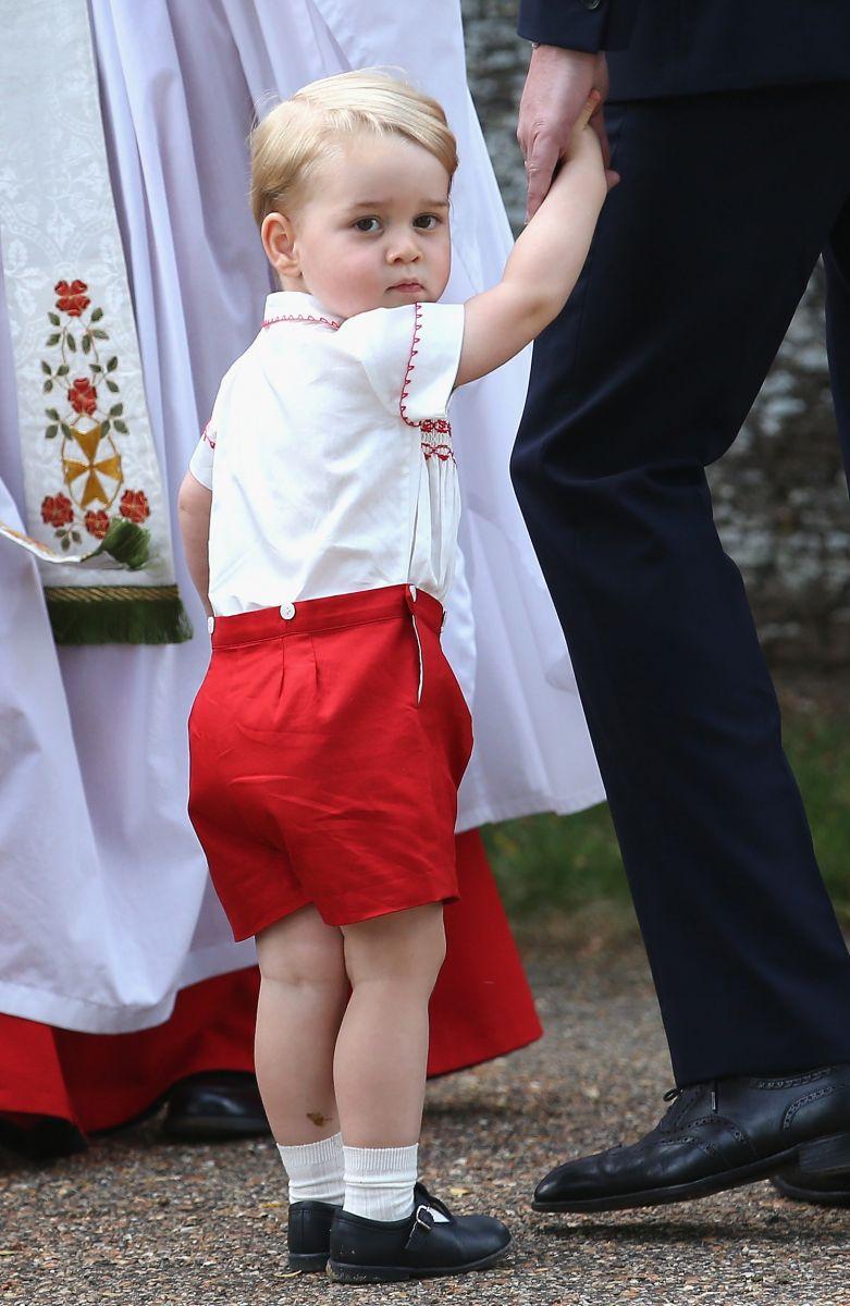 С Днем Рождения, модник: сын Кейт Миддлтон назван самым стильным ребенком