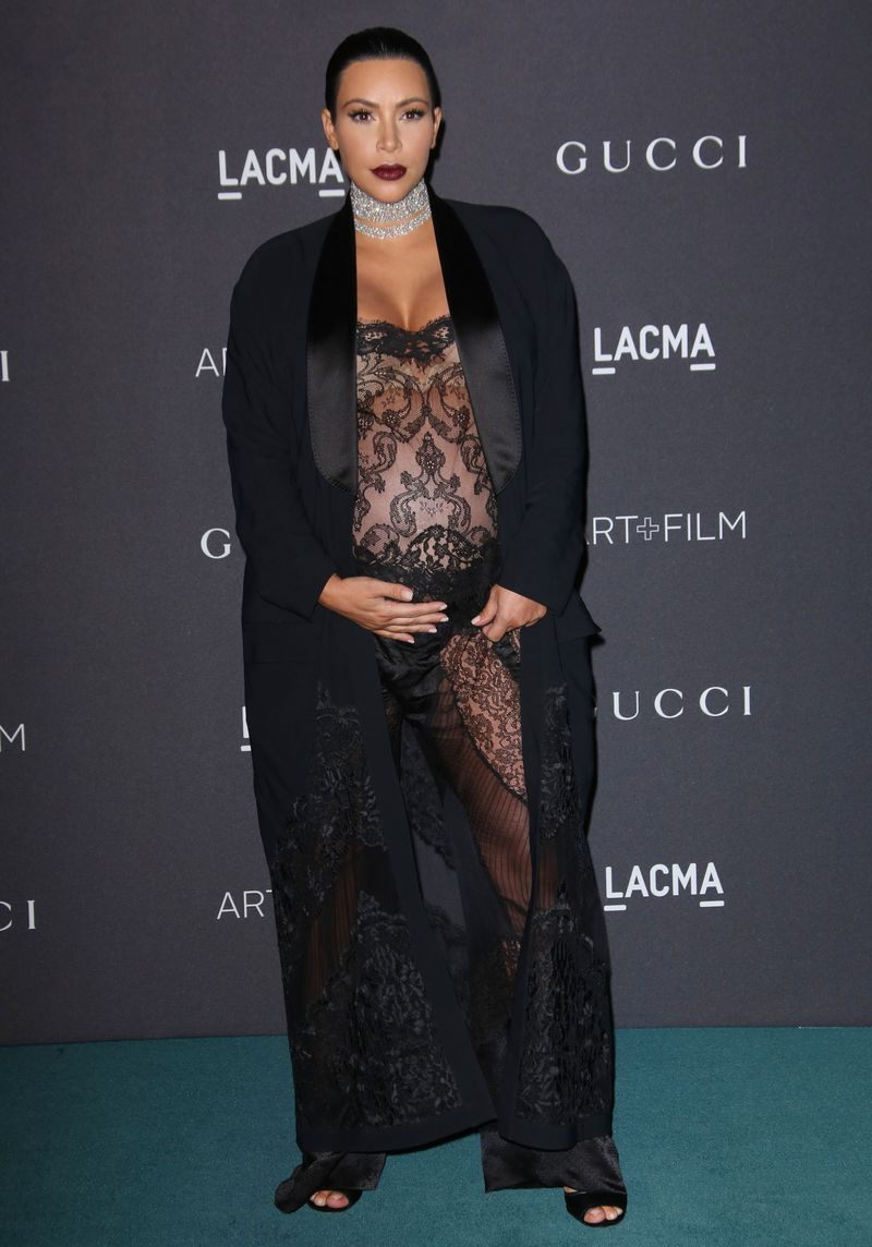 Ким Кардашьян худеет после родов фото 2016