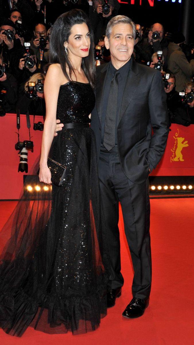 Джордж и Амаль Клуни фото 2016