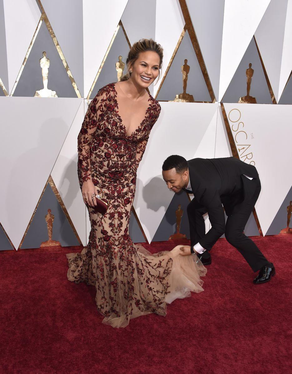 """""""Оскар 2016"""": самые красивые звездные пары церемонии"""