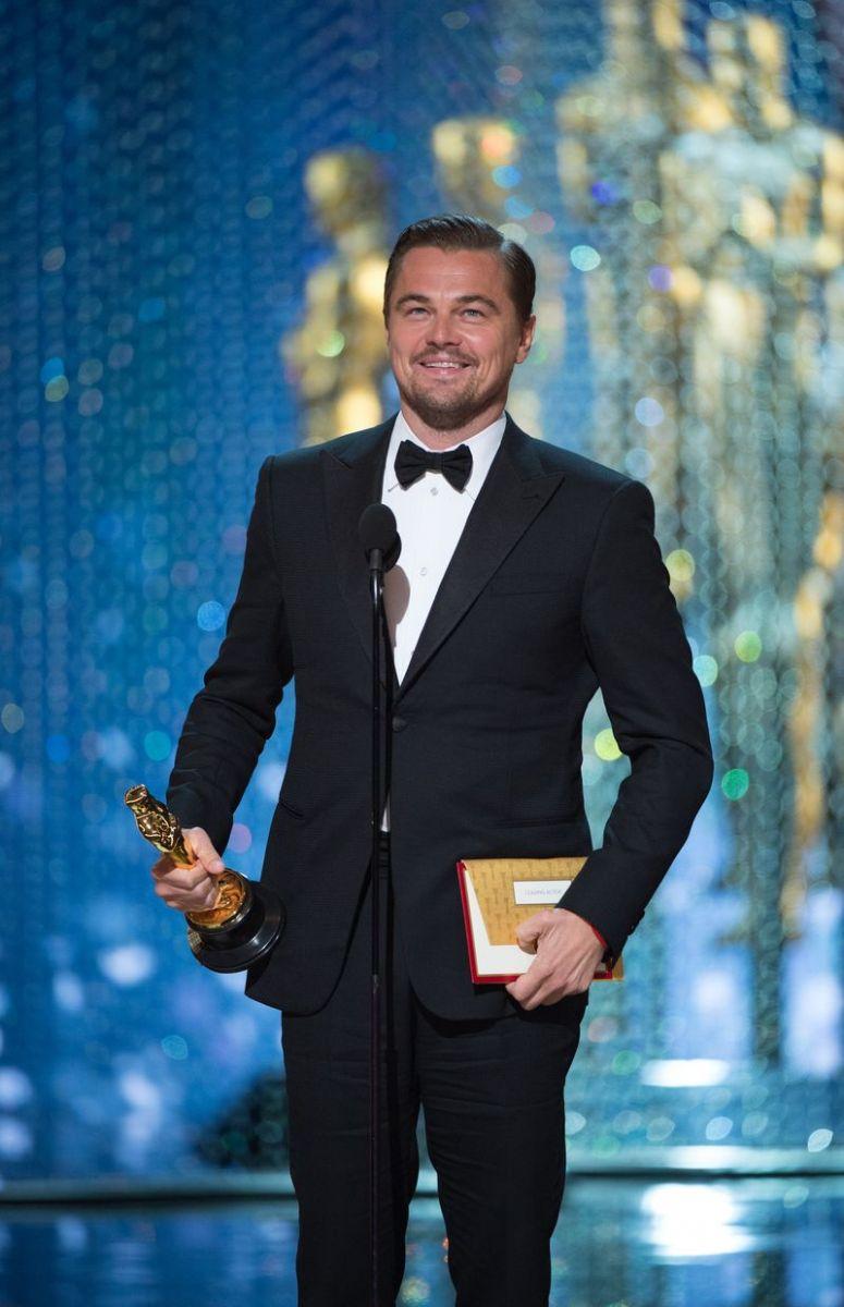 Леонардо ДиКаприо Оскар 2016 фото