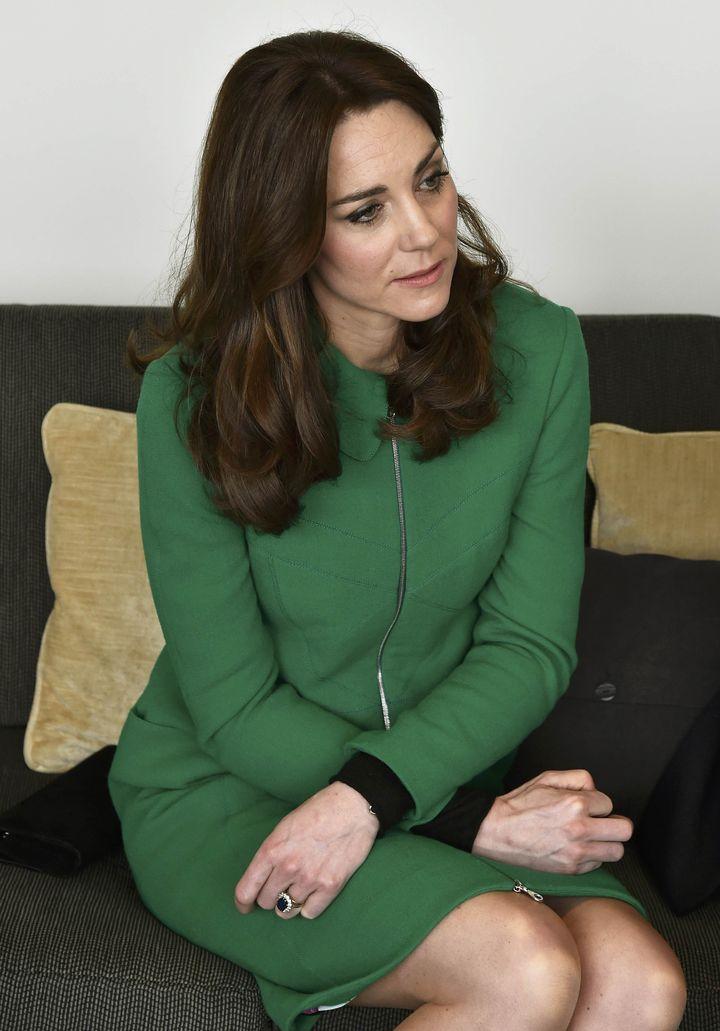 Фотофакт: Кейт Мидлтон вышла в свет в платье 2012 года стоимостью 60 фунтов